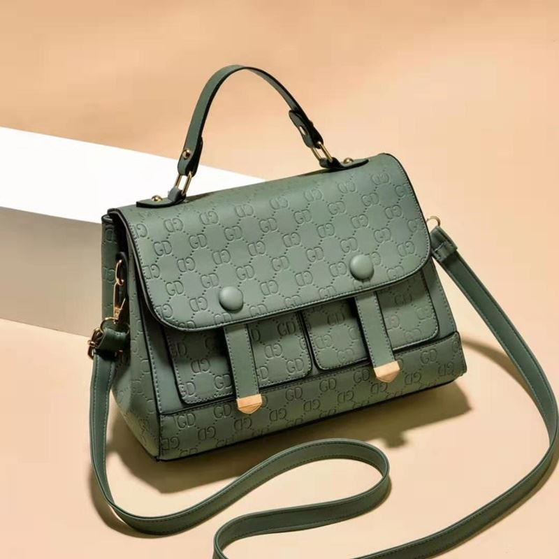 JT18667 IDR.172.000 MATERIAL PU SIZE L26XH19XW10CM WEIGHT 650GR COLOR GREEN
