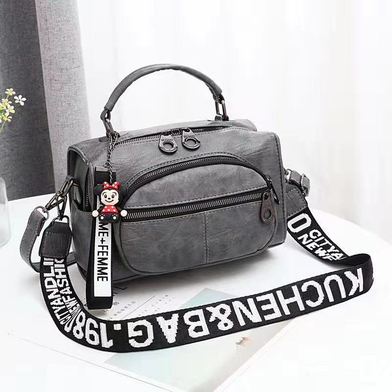 JT19021 IDR.165.000 MATERIAL PU SIZE L25XH17XW13CM WEIGHT 700GR COLOR DARKGRAY