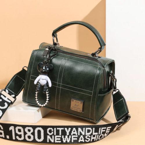 JT1912-green Tas Slingbag Fashion Gantungan Black Bear Import