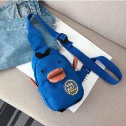 JT19130-blue Sling Bag Unisex Lucu Import Kekinian