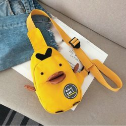 JT19130-yellow Sling Bag Unisex Lucu Import Kekinian