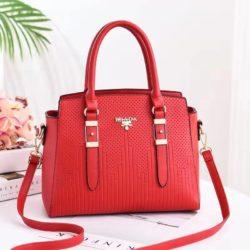 JT19161-red Tas Handbag Selempang Wanita Cantik Import