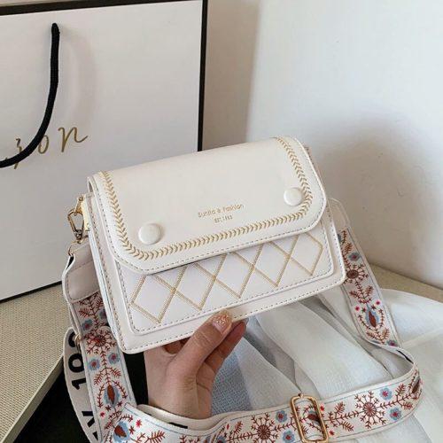 JT1950-beige Tas Selempang Fashion Elegan Wanita Cantik Import