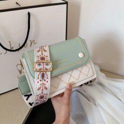 JT1950-green Tas Selempang Fashion Elegan Wanita Cantik Import