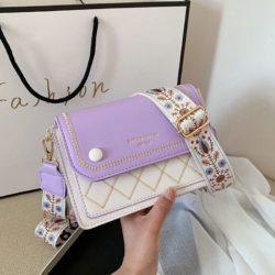 JT1950-purple Tas Selempang Fashion Elegan Wanita Cantik Import