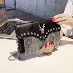 JT2000-black Tas Selempang Pesta Wanita Cantik Import Terbaru