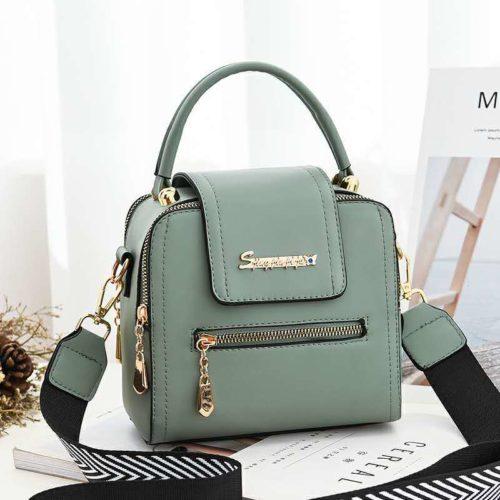 JT2008-green Tas Handbag Selempang Fashion Wanita Cantik