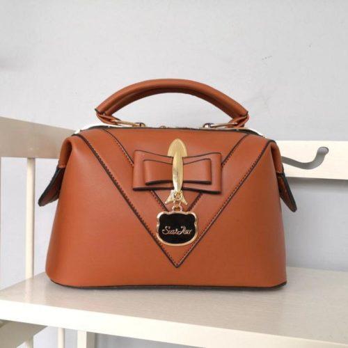 JT20149-brown Doctor Bag Selempang Fashion Import Wanita