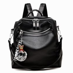 JT20178 IDR.152.000 MATERIAL PU SIZE L27XH30XW13CM WEIGHT 650GR COLOR BLACK
