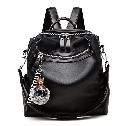 JT20178 IDR.157.000 MATERIAL PU SIZE L27XH30XW13CM WEIGHT 650GR COLOR BLACK