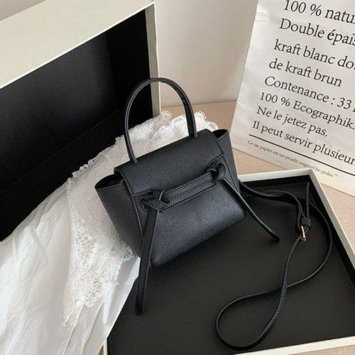 JT2028-black Tas Selempang Handbag Modis Wanita Cantik Terbaru