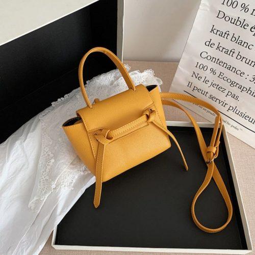 JT2028-yellow Tas Selempang Handbag Modis Wanita Cantik Terbaru