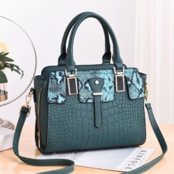 JT20281-green Tas Handbag Wanita Elegan Import Terbaru
