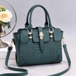 JT20282-green Tas Handbag Wanita Cantik Import Terbaru