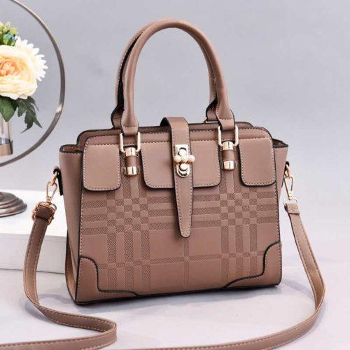 JT20282-khaki Tas Handbag Wanita Cantik Import Terbaru