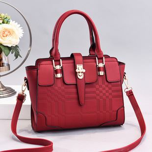 JT20282-red Tas Handbag Wanita Cantik Import Terbaru