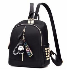 JT2033 IDR.130.000 MATERIAL POLYESTER SIZE L27XH29XW14CM WEIGHT 450GR COLOR BLACK