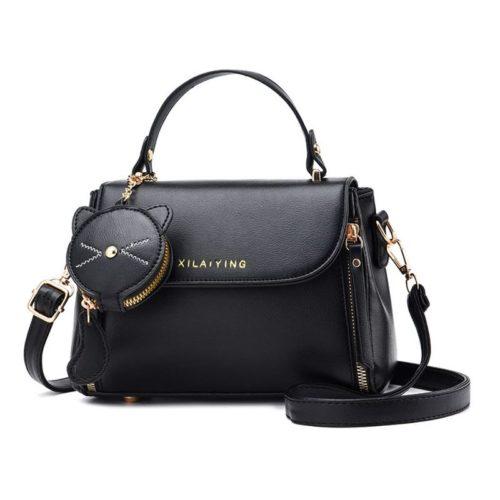 JT20352-black Tas Handbag Selempang Wanita Cantik Import