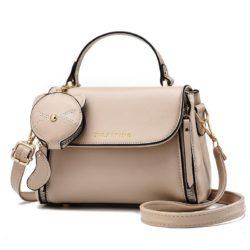 JT20352-khaki Tas Handbag Selempang Wanita Cantik Import