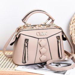 JT2051-khaki Doctor Bag Selempang Wanita Elegan Import