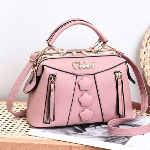 JT2051-pink Doctor Bag Selempang Wanita Elegan Import