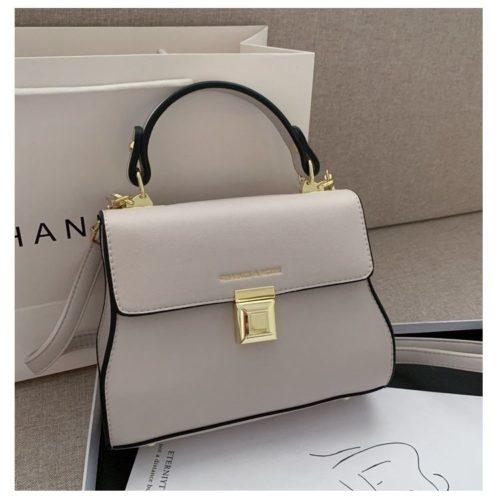 JT2055-beige Tas Handbag Selempang Wanita Cantik Import