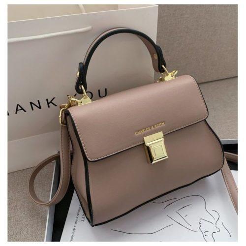 JT2055-pink Tas Handbag Selempang Wanita Cantik Import