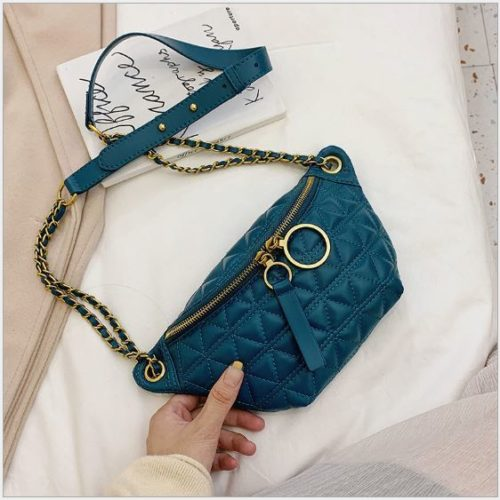 JT2058 IDR.155.000 MATERIAL PU SIZE L28XH14XW6CM WEIGHT 300GR COLOR GREEN