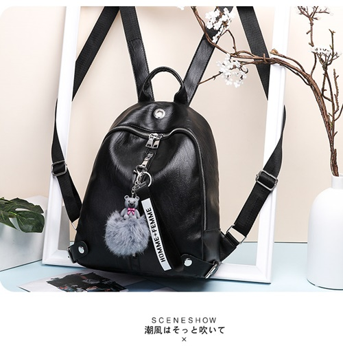 JT2081 IDR.150.000 MATERIAL PU SIZE L25XH30XW13CM WEIGHT 600GR COLOR BLACK