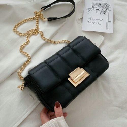 JT2090-black Tas Selempang Pesta Wanita Elegan Import