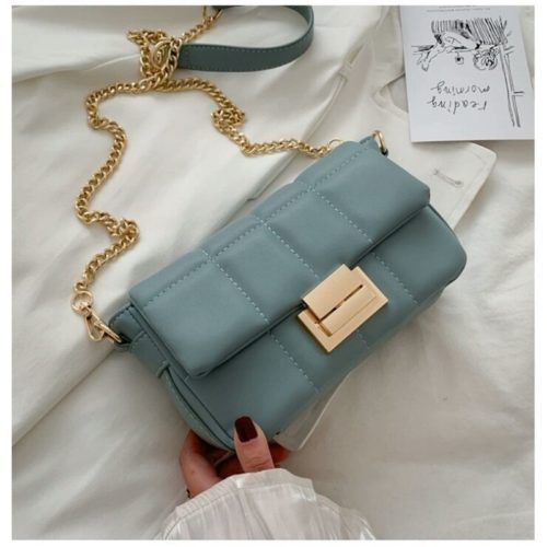 JT2090-blue Tas Selempang Pesta Wanita Elegan Import