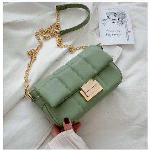 JT2090-green Tas Selempang Pesta Wanita Elegan Import