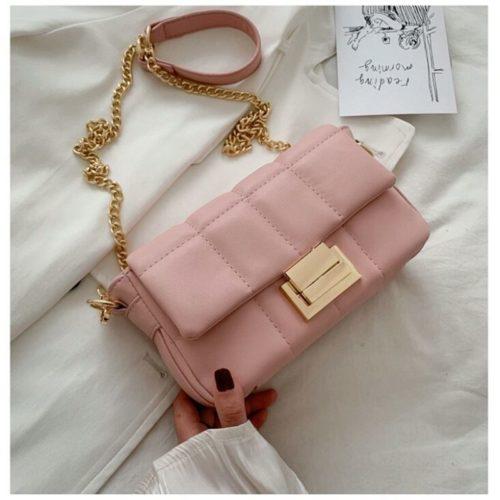 JT2090-pink Tas Selempang Pesta Wanita Elegan Import