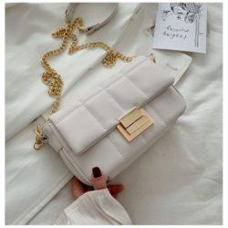 JT2090-white Tas Selempang Pesta Wanita Elegan Import