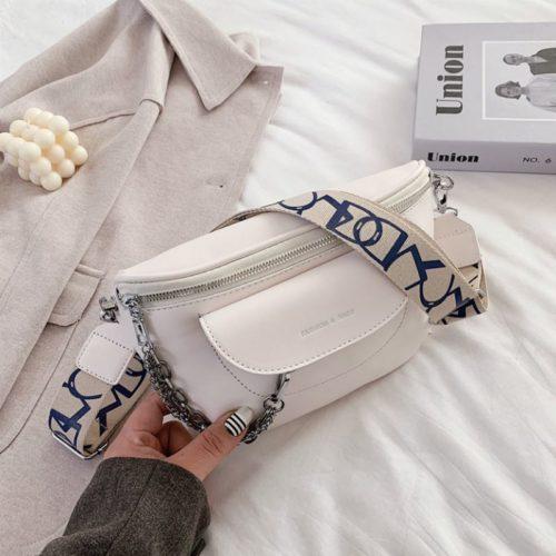 JT2102-beige Tas Selempang Fashion Import Wanita Terbaru