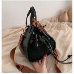 JT214548-black Tas Selempang Modis Wanita Cantik