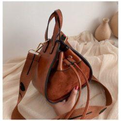 JT214548-brown Tas Selempang Modis Wanita Cantik