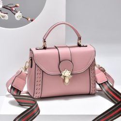 JT2182-pink Tas Handbag Selempang Wanita Elegan Import