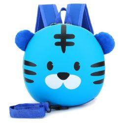 JT2222-blue Tas Ransel Anak Lucu Import Kekinian