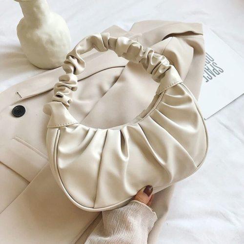 JT2429-beige Tas Shoulder Bag Fashion Wanita Cantik