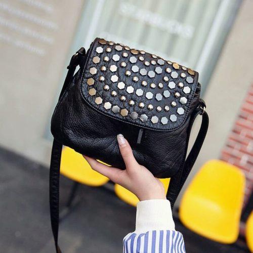 JT24317-black Tas Selempang Fashion Elegan Wanita