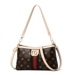 JT2468 IDR.140.000 MATERIAL PU SIZE L25XH15XW6CM WEIGHT COLOR FLOWER-BEIGE
