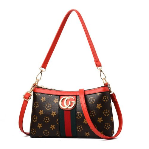 JT2468 IDR.140.000 MATERIAL PU SIZE L25XH15XW6CM WEIGHT COLOR FLOWER-RED