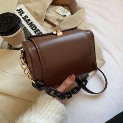 JT25820-coffee Tas Selempang Fashion Modis Wanita Cantik Terbaru
