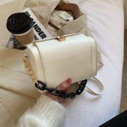 JT25820-white Tas Selempang Fashion Modis Wanita Cantik Terbaru