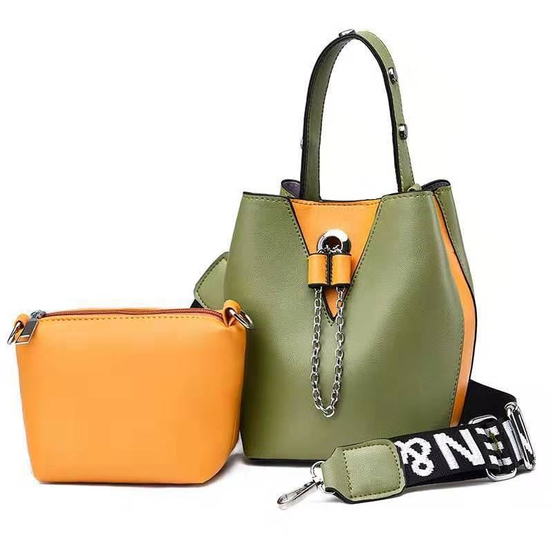 JT2591 (2IN1) IDR.165.000 MATERIAL PU SIZE L14XH21XW14CM WEIGHT 550GR (2IN1) COLOR GREEN