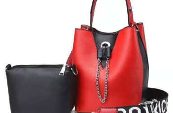 JT2591 (2IN1) IDR.165.000 MATERIAL PU SIZE L14XH21XW14CM WEIGHT 550GR (2IN1) COLOR RED