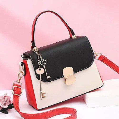 JT2592-black Tas Selempang Fashion Import Wanita Cantik
