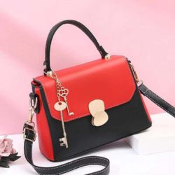 JT2592-red Tas Selempang Fashion Import Wanita Cantik