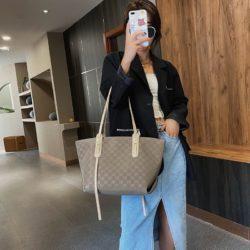 JT26738-khaki Tas Selempang Fashion Elegan Wanita Cantik Import